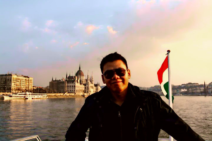 Me in Budapest
